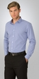 'City Collection' Mens So Ezy Classic Check L/S Shirt