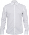 ' Calvin Klein ' 100% Cotton Herringbone Slim Fit Shirt