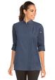 'CHEFWORKS' HARTFORD Ladies Zipper Long Sleeve Chef Jacket