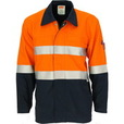 'DNC' Patron Saint Flame Retardant Arc Rated D/N Two Tone Welder's Jacket