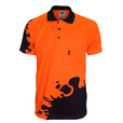 'DNC' HiVis Sublimated BLOT Short Sleeve Polo