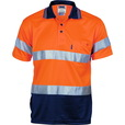 'DNC' HiVis D/N 2 Tone Cool Breathe Short Sleeve Polo