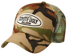 'Grace Collection' Camouflage Trucker Cap