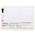 'High Caliber' A4 Magnetic Whiteboard with Notepad
