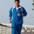 'Bocini' Unisex Track Suit Jacket with Contrast Panels