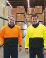 'Visitec Workwear' V-Neck Sloppy Joe