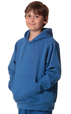'Winning Spirit' Kids Passion Close Front Fleecy Hoodie