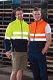 'JB' HiVis Day/Night Layer/Softshell Vest