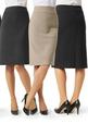 'Biz Collection' Ladies Classic Below Knee Skirt