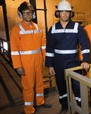 'Visitec Workwear' HiVis Cotton Drill Combination Overalls with 3M Reflective Tape