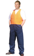 'Winning Spirit' Mens HiVis Action Back Overall Stout Size