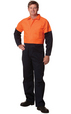 'Winning Spirit' Mens HiVis Two Tone Coverall Stout Size