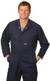 'Winning Spirit' Mens Action Back Coverall In Heavy Cotton Pre-Shrunk Drill Stout Size