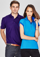 'Biz Collection' Ladies Crew Polo