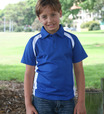 'Bocini' Kids Team Essentials Short Sleeve Contrast Panel Polo