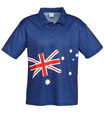 Aussie Flag Polo Shirt