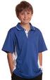 'Winning Spirit' Kids Teammate Truedry® Contrast Short Sleeve Polo