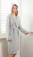 .JERSEY HOODED ROBE