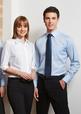 'Biz Collection' Mens Luxe Long Sleeve Premium Cotton Shirt