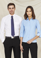 'Biz Collection' Ladies Base ¾ Sleeve Shirt