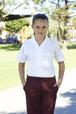 'Bocini' Girls Short Sleeve School Shirt
