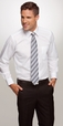 'City Collection' Mens Long Sleeve Corporate Essentials Shirt