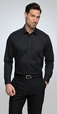 'City Collection' Mens Long Sleeve Stretch Classic Shirt