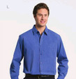 ** CLEARANCE ITEM ** 'Totally Corporate' Men's Regular Collar Long Sleeve Shirt