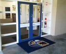 Door and Entrance Mat Signage
