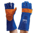 'Prochoice' Blue Heeler® - Blue and Gold Kevlar® Premium Glove