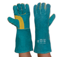 'Prochoice' South Paw® Left Hand Pair - Green and Gold Kevlar® Glove