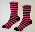 'She Wear' Striped Bamboo Socks
