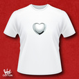 'Silver Heart' T-shirt