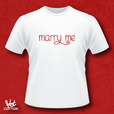 'Marry Me' T-shirt