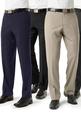 'Biz Collection' Mens Flat Front Pant