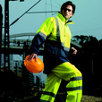 'Bocini' Unisex Hi-Vis Safety Pants with Reflective Tape