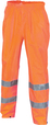 'DNC' HiVis Day/Night Rain Pants with Generic Reflective Tape