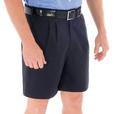 'DNC' Pleat Front Permanent Press Shorts