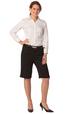 'Winning Spirit' Ladies Poly/Viscose Stretch Knee Length Flexi Waist Shorts