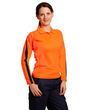 Ladies HiVis Polos Long Sleeve