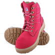 Ladies STEEL BLUE Safety Boots