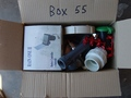 Box #55 - End of contract clearance. Mixed condition products. Assorted parts.