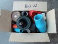 Box #66 - End of contract clearance. Mixed condition products. Assorted valves and parts.