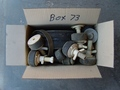 Box #73 - End of contract clearance. Mixed condition products. Assorted test plugs.