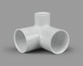 PVC ELBOW SIDE OUTLET FAUCET