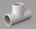 PVC TEE PLAIN