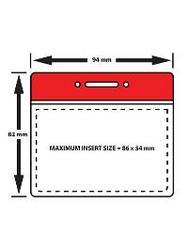 CHFH01 Flexible credit card holder. Horizontal - landscape format.