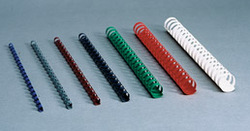Plastic Combs - 8mm - 21Ring White
