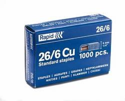 26 - 6 Staples for Rapid Stapler box 500014.50