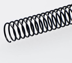 PVC Spiral Binding 22mm Black 316mm(A4)